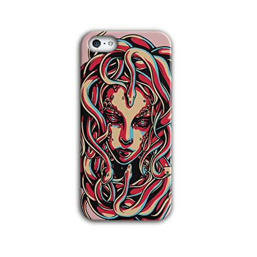 [Medusa Queen Snake Viper Hair NEW Black 3D iPhone 5 / 5S Case | Wellcoda] (Greek Stage Costumes)