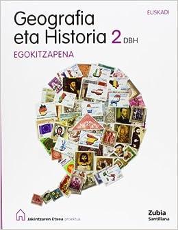 GEOGRAFIA ETA HISTORIA 2 DBH EGOKITZAPENA JAKINTZAREN ETXEA - 9788498941050: Amazon.es: Batzuk: Libros