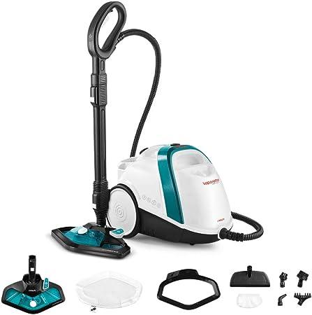 Polti Vaporetto Smart 100_T Limpiador a vapor, autonomía ilimitada con carga continua, caldera de alta presión, 4 bar, 9 accesorios: Amazon.es: Hogar