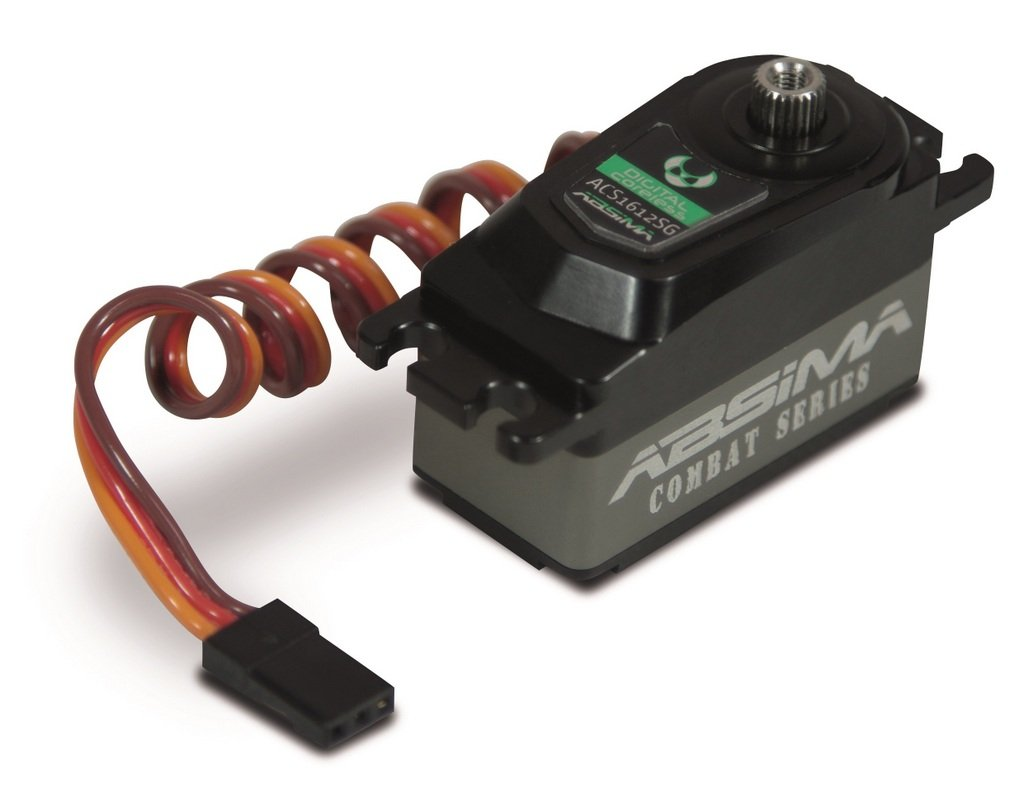 Absima Combat Series 2030010 - Modellino RC Car Low Profile Servo ACS1612SG