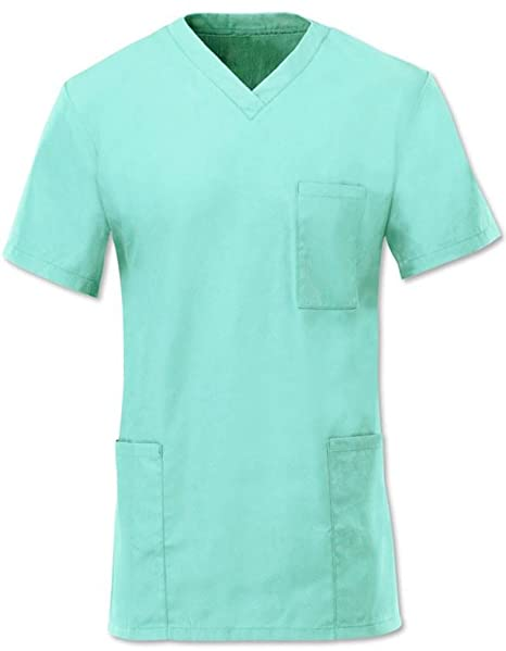 UNISEX de mujer en el agua L patrones para pijamas de hospital para túnicas de chica