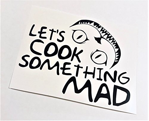 Let's Cook Something Mad | Instant Pot Vinyl Decal