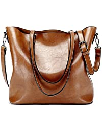Women Handbags Fashion Handbags for Women Simple PU Leather Shoulder Bags Messenger Tote Bags 285