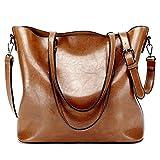 LWK Women Handbags Fashion Handbags for Women Simple PU Leather Shoulder ...