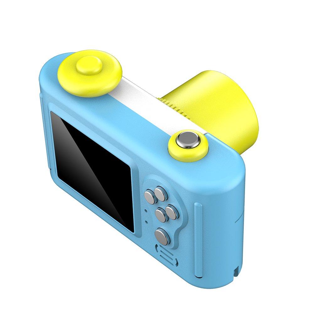 CamKing Kids Children's Camera, 1.5 Inch Screen Mini Digital Camera (Blue) by CamKing (Image #5)