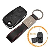 Cover Shell Key Fob Case Remote Control 3 Buttons for Fiat PUNTO PANDA DUCATO ULYSSE 500 DOUBLE (with battery place)