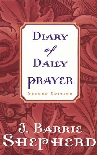 Diary Prayer Second Barrie Shepherd product image