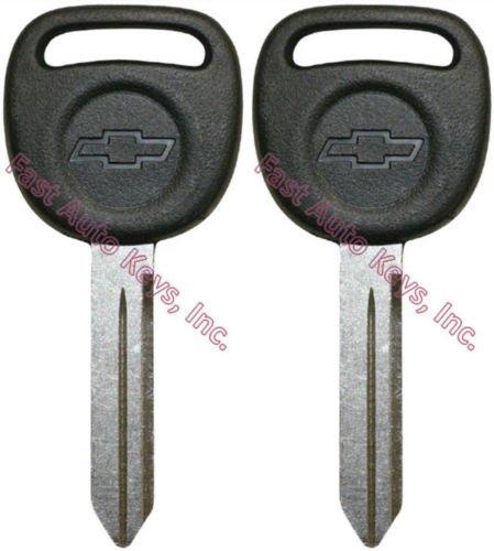 - 598007 (2) Chevrolet Isuzu Oldsmobile Gm Quality OEM Key Blanks.