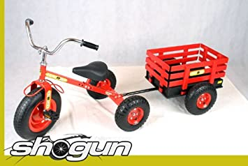 Tow N Go >> Tow N Go Trike And Trailer Red Amazon Co Uk Sports Outdoors