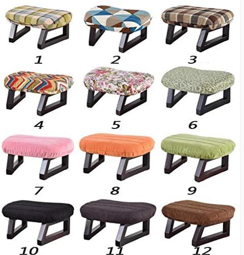 LYQZ Tabouret en Bois Mode siège Changement Chaussures Petite Chaise Salon Maquillage Tabouret Table Meubles