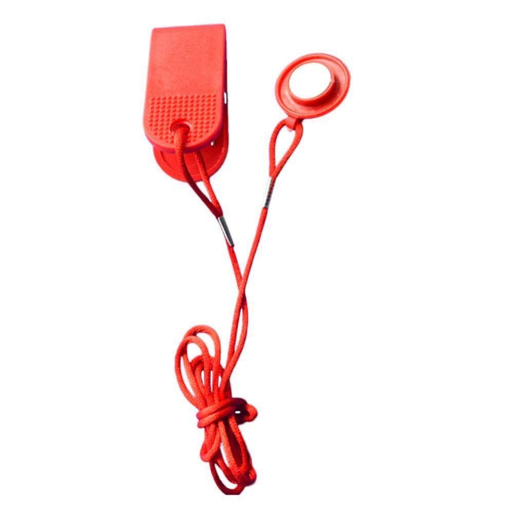 Film Clé de sécurité de Tapis Roulant Clé de démarrage électrique de Tapis Roulant de Serrure de commutateur magnétique de Serrure pour la Gymnastique