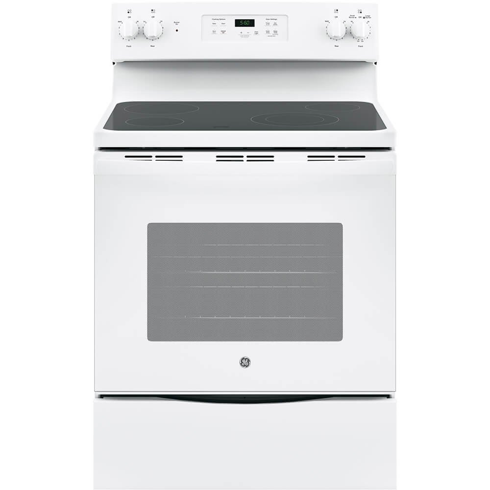 GE JBS60DKWW Electric Smoothtop Range Oven