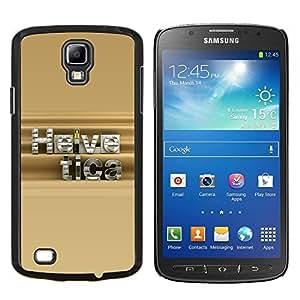 EJOOY---Cubierta de la caja de protección para la piel dura ** Samsung Galaxy S4 Active i9295 ** --Helvetica