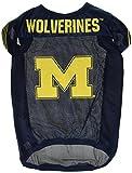 NCAA Michigan Wolverines Football Dog Jersey, X-Large