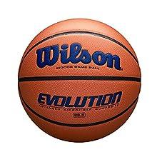 "Wilson Evolution Game Basketball, Navy, Intermediate Size - 28.5"""