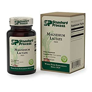 Standard Process - Magnesium Lactate - Supports Cellular Energy Production - 90 Capsules