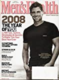 Men's Health Magazine January/ February 2008 Issue