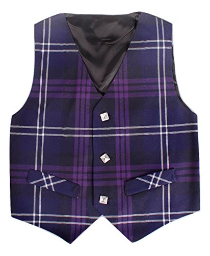 (Kilt Society Boys Heritage of Scotland Tartan Formal Vest 8 Years)
