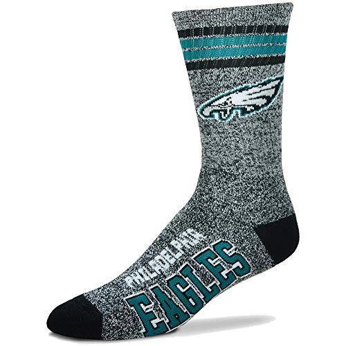 (For Bare Feet Got Marbles Crew Socks Men's Medium 5-10 - Philadelphia Eagles)