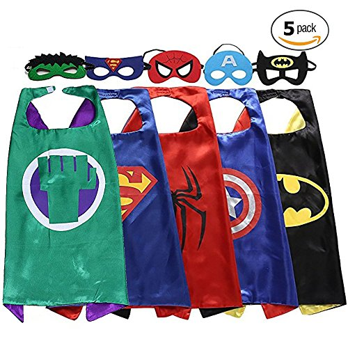 Superhero Costume For Kids, Birthday & Halloween Fun Party Supplies 2017 by SpotOn (Halloween Party Logo)