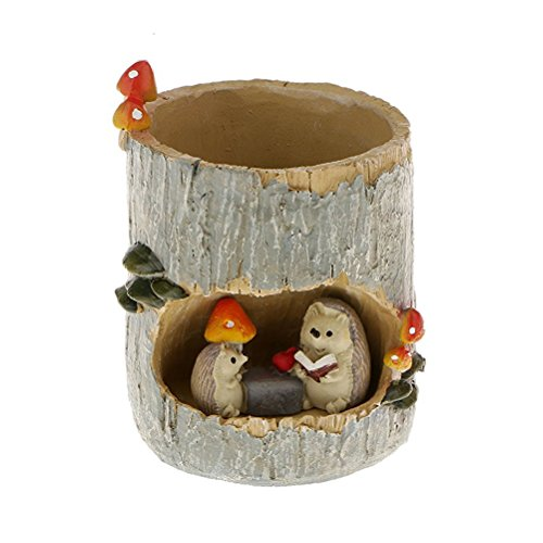 Tinksky Hedgehog Succulent Planter Decoration