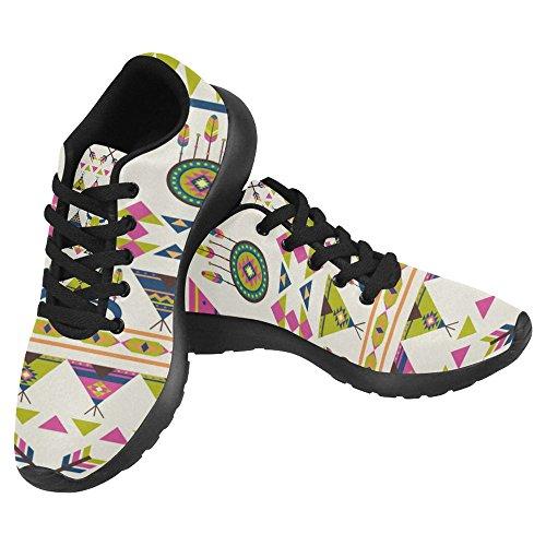 Walking Lightweight InterestPrint Multi Shoes Go Comfort Womens Sneaker Jogging Casual Running 11 Running Easy w0rqA0If