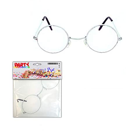 31ea627819d Party Discount Glasses grandma grandpa Round Metal without  Amazon.co.uk   Kitchen   Home