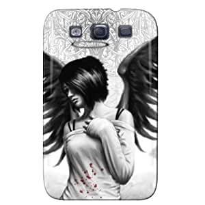 Slim Fit Design For Galaxy S3 Protective Hard Case Silver NEw3p5wbLdS