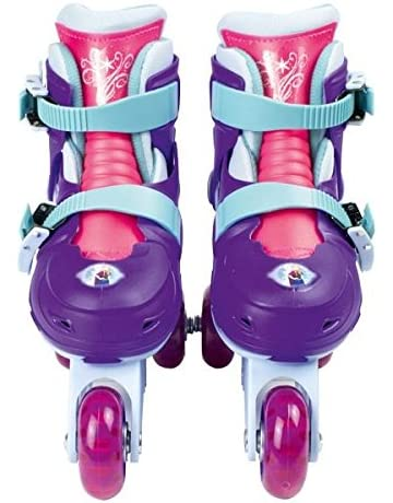 Disney Frozen OFRO084 - Patines en línea, 2 en 1, tamaño ajustable 27-