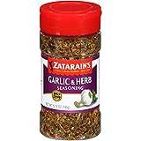 Zatarain's Garlic & Herb Big & Zesty Spice Blend, 5.12 oz (Case of 6)