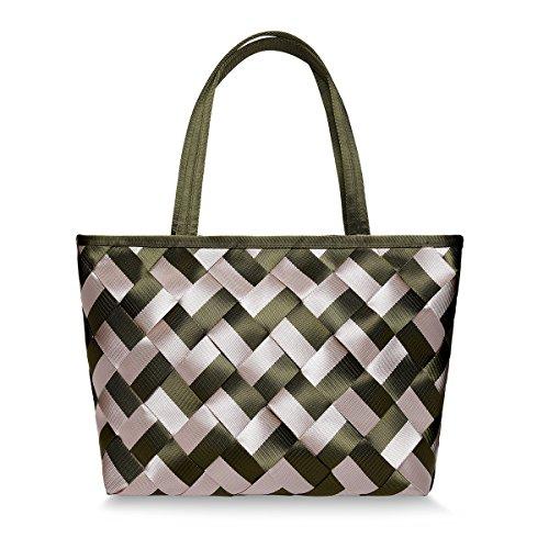 amp; Stylish Hangbag Large Black Womens Waterproof Shoulder VAVABOX Handbags Green Nylon Hobo Khaki Tote Bags Bag Bag Capacity Ea1Pqx