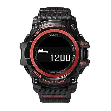 Zeblaze Reloj Inteligente, Muscle HR Android iOS 5ATM Impermeable: Amazon.es: Electrónica