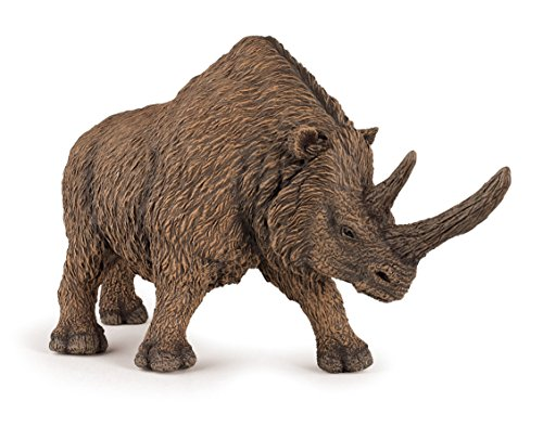 Wooly Rhino - Papo The Dinosaur Figure, Woolly Rhinoceros
