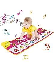 NEWSTYLE Kids Piano Mat, Kids Muziek Piano Mat, Toetsenbord Mat, Muzikale Touch Play Mat met Animal Sound Educatieve Muziek Speelgoed, Kerst Verjaardag voor Kids Jongens Meisjes