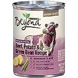 Purina Beyond Grain Free Beef, Potato & Green Bean Recipe Ground Entree Adult Wet Dog Food - Twelve (12) 13 oz. Cans