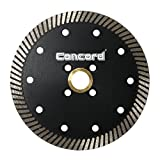 Concord Blades CTN050A10SP 5 Inch Continuous Rim Narrow Turbo Teeth Diamond Blade