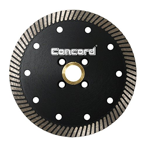Concord Blades CTN060A10SP 6 Inch Continuous Rim Narrow Turbo Teeth Diamond Blade - Granite Diamond Blade