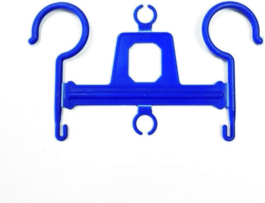 Percha colgador para bolsa orina AARON® | Sujeción para bolsas de orina de 2L o 2000 ml de capacidad. Fabricado en plástico. Pack de 15 unidades.