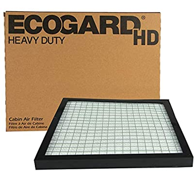 ECOGARD XC10611HD Heavy Duty Truck Cabin Air Filter ECOGARD Fits Freightliner Century 1995 and Newer (10-5/8 x 10-5/8 x 3/4 inch): Automotive