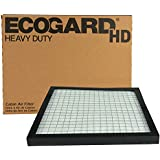 ECOGARD XC10611HD Heavy Duty Truck Cabin Air Filter Fits Freightliner Century 1995 and Newer (10-5/8 x 10-5/8 x 3/4 inch)