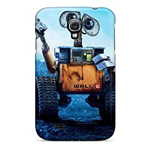 High Grade SuperMaryCases Flexible Tpu Case For Galaxy S4 - Wall E Helloworld