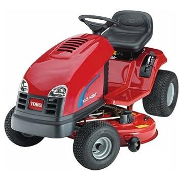 Toro XLS, 420t reciclado operativos, Tractor Cortacésped o, incluye herramientas estante, Easy