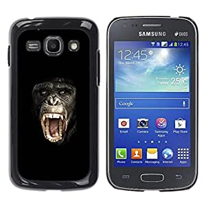 Planetar® ( Ape Monkey Chimpanzee Planet Of The ) Samsung Galaxy Ace 3 III / GT-S7270 / GT-S7275 / GT-S7272 Fundas Cover Cubre Hard Case Cover