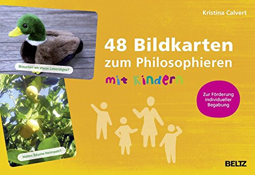 48 Bildkarten zum Philosophieren mit Kindern: Zur Förderung individueller Begabungen - Mit 48-seitigem Booklet (hochbegabung und pädagogische praxis)