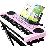 The Best Choice Keyboard Children Beginners Entry 3-12 Years Old Girl Piano Toy 61-key Multi-function Intelligent Teaching Keyboard