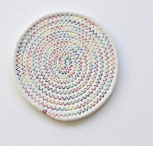Posavasos de algodón japonés, 5 unidades, tejido a mano, almohadilla aislante: Amazon.es: Hogar