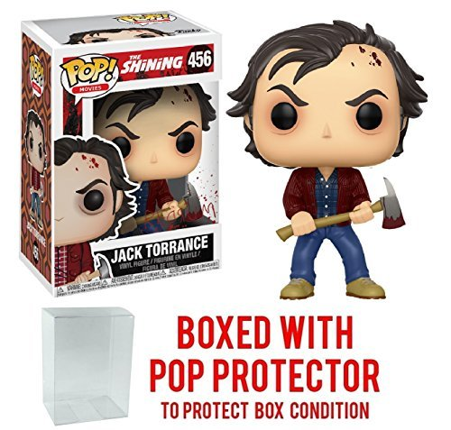 The Shining Jack Torrance Pop  Vinyl Figure And  Bundled With Pop Box Protector Case