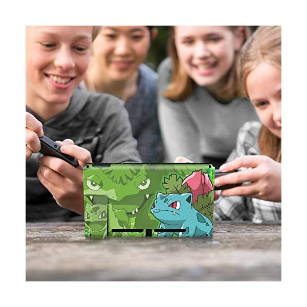 Controller Gear Nintendo Switch Skin & Screen Protector Set - Pokemon - Bulbasaur Evolutions Set 1 - Nintendo Switch 10