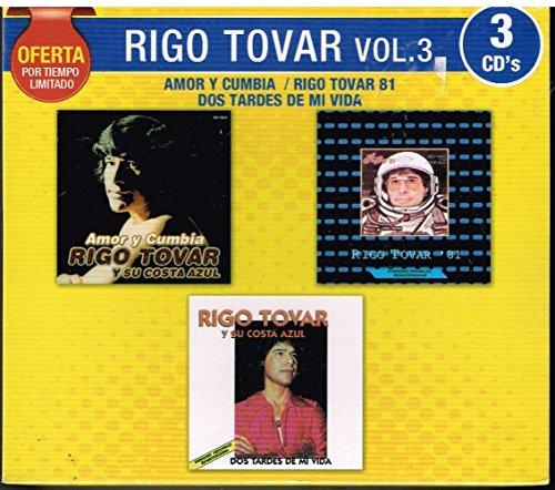 RIGO TOVAR 3 CD's PACK VOL 3