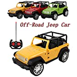 Easy to Control Remote Controlled Jeep Car Radio Control Toys Car,Remote Control High Speed Racing Vehicles Car Toy Track Cars Toys Birthday Gift for Kids Toddlers Baby Boys Girls Adults (Green)